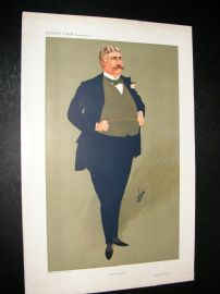 Vanity Fair Print 1911 George Joseph Edwards, Theatre